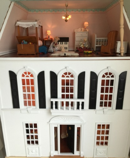 You could opt to stay indoors and play with the dollhouse