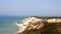 Gay Head, Martha's Vineyard. I actually took this picture.