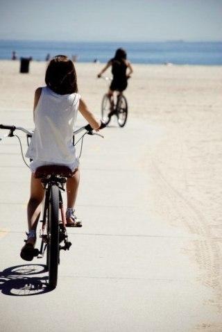Ride your bike!